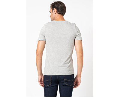 T-shirt da uomo JJBARISTA 12175196 Light Grey Melange