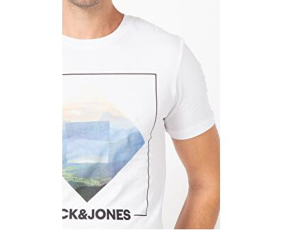 T-shirt da uomo JJBARISTA 12175196 White