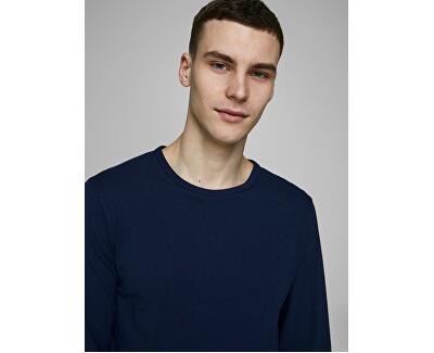 Herren T-Shirt JJEBASIC 12059220 NAVY BLUE