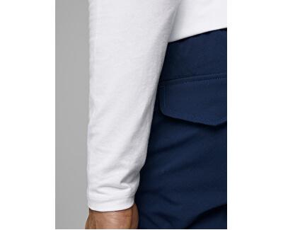 Herren T-Shirt  JJEBASIC 12059220 OPT WHITE