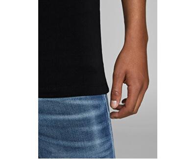 T-shirt da uomo JJEBASIC V-NECK TEE 12059219 BLACK