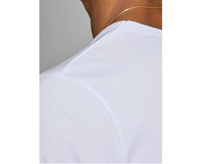 T-shirt da uomo JJEBASIC SCOLLO TEE 12059219 OPT WHITE