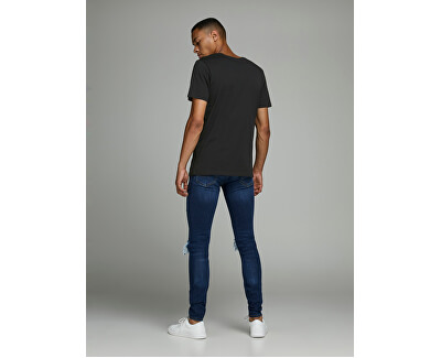 T-shirt da uomo JJECORP uomo 12151955 Black Slim
