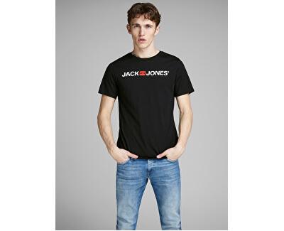 T-shirt da uomo JJECORP uomo 12137126 Black