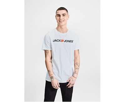 T-shirt da uomo JJECORP uomo 12137126 White