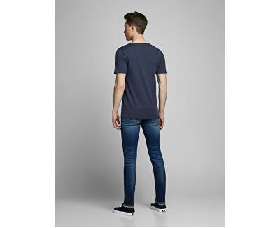 T-shirt da uomo JJEJEANS TEE 12177533 Navy Blazer