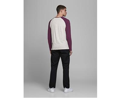 Herren T-Shirt JJERAGLAN LOGO T 12172365 Port Royale