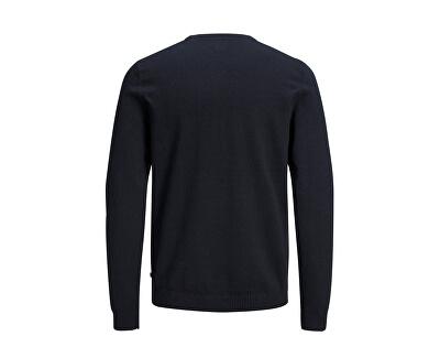 Maglione da uomo JJEBASIC 12137190 Navy Blazer