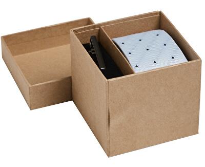 Set regalo JACCONNOR TIE BOX Cachemire Blue Mini