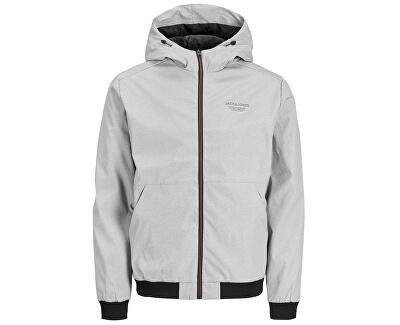 Férfi kabát JJESEAM 12182243 Light grey Melange