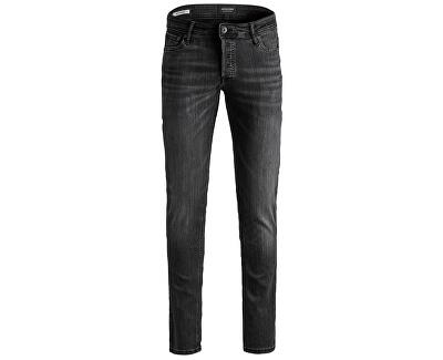 Pánské džíny JJIGLENN Slim Fit 12159030 Black Denim