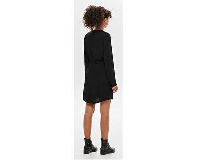 Rochie pentru femei JDYPOPPY L / S BELT DRESS WVN Black