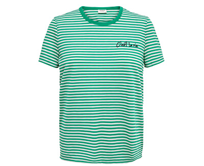 Dámské triko JDYCITY 15200854 Sea Green CEST_EMB