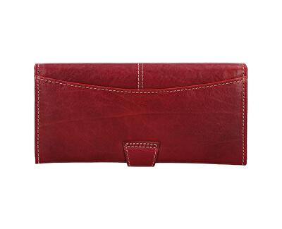 Portafoglio da donna in pelle  Red