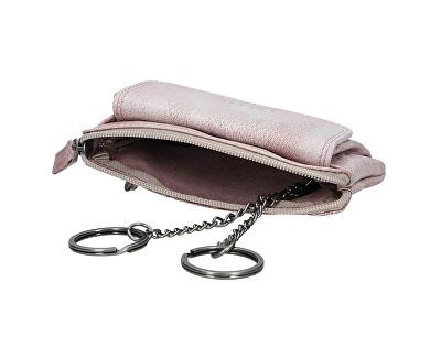 Damen Leder Brieftasche Plum