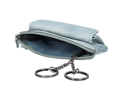 Portafoglio da donna in pelle 786-382 Ocean Blue