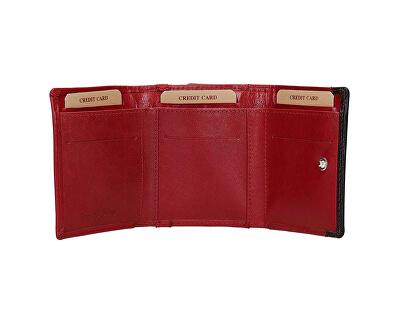 Dámska kožená peňaženka BLC-160231 Red/Blk
