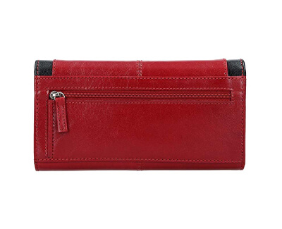 Dámska kožená peňaženka BLC-4228 Red / Blk