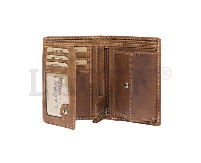 Herren Leder Geldbörse 51145 TAN
