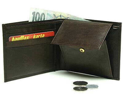 Herren Lederbrieftasche W-8120 BRN