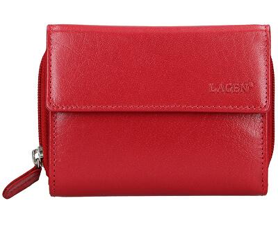 Damen Lederbrieftasche 932/B Red