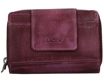 Lederbrieftasche für Damen 931 D Bordó