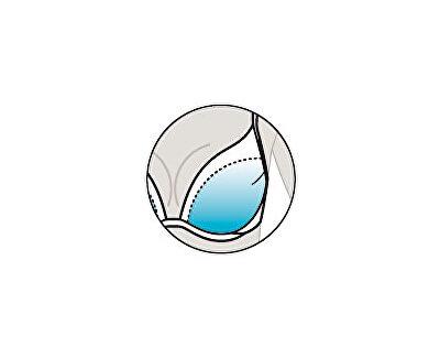 Dámská plavková podprsenka s košíčky push-up 63162