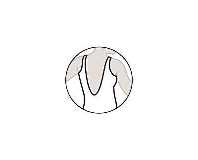 Dámské jednodílné plavky s košíčky 63293