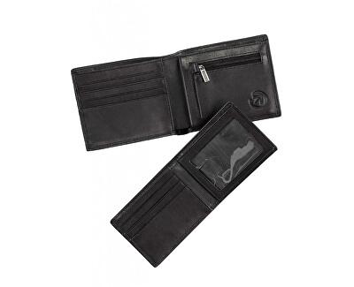 Pánská kožená peněženka Brazzer Black