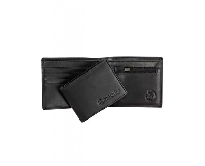 Pánská kožená peněženka Pitfall Black