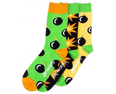 3 PACK - Socken Bomb socks S19 pack