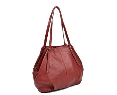 Dámská kožená kabelka AW19MG1578 Vino