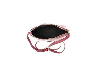 Kožená crossbody kabelka AW19MG1501 Vino