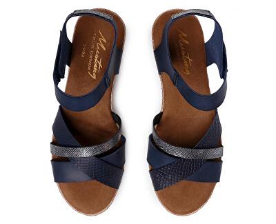 Sandale pentru femei 1317806-820 bleumarin