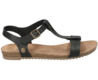 Sandali da donna 1307803-9 Schwarz