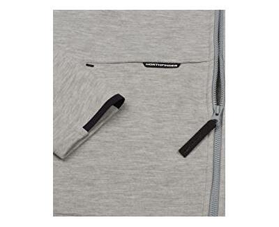 Pánská mikina Smawer MI-3594SP 274 black melange