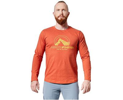 Pánske tričko Hillon TR-3468SP 293 Brown
