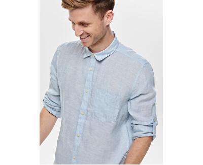 Pánská košile ONSLUKE 22013258 Cashmere Blue