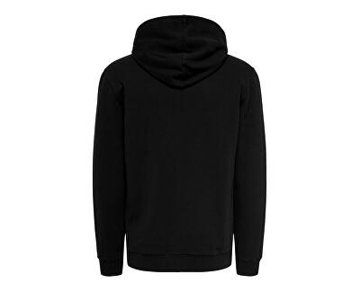 Pánská mikina ONSORGANIC REG  ZIP HOODIE SWEAT Black