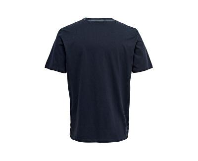 Pánské triko ONSCALM SLIM SS TEE Dark Navy