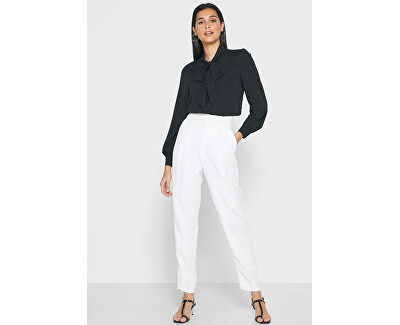 Camicia da donna ONLADIE LIFE L/S BOW SHIRT WVN Black