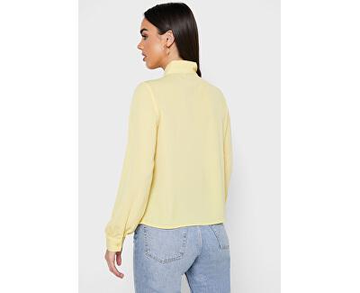 Dámska košeľa ONLADIE LIFE L / S BOW SHIRT WVN Pineapple Slice