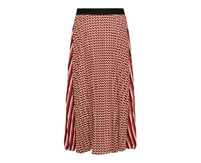 Dámska sukňa ONLGWEN MIDI plisse SKIRT WVN Cameo Rose