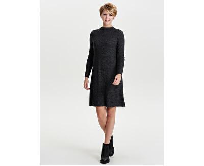 Vestito da donna ONLKLEO L/S VESTITO KNT NOOS Dark Grey