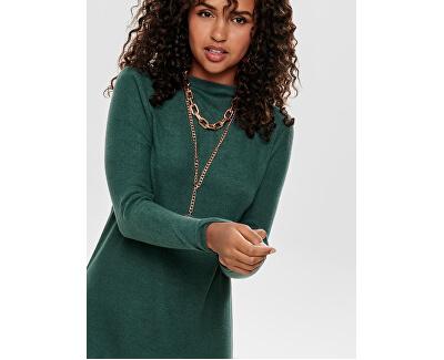 Rochie de damă ONLKLEO L / S DRESS KNT NOOS Rochii Green