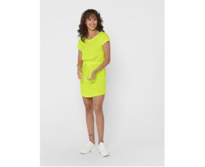 Női ruha ONLMAY 15153021 Neon Yellow