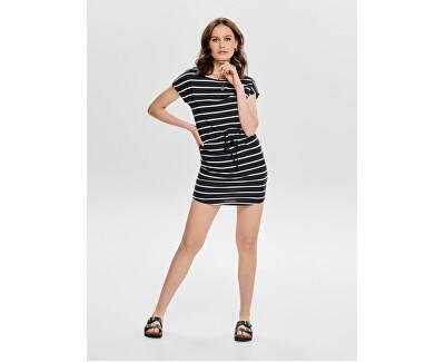 Dámské šaty ONLMAY LIFE 15153021 Black CLOUD DANCER