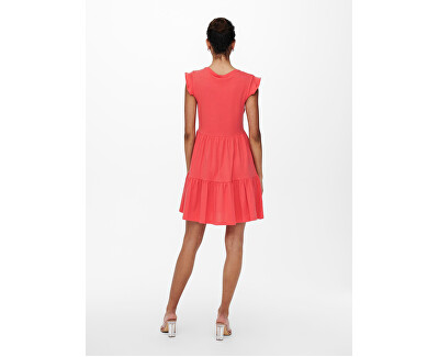 Dámské šaty  ONLMAY LIFE 15226992 Cayenne
