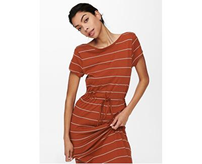Dámské šaty ONLMAY LIFE 15202995 Arabian Spice CLOUD DANCER