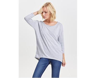 T-shirt da donna ONLELCOS 15124402 Light Grey Melange